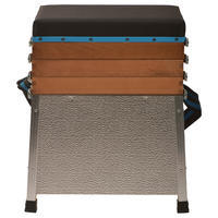 3 nodalījumu sēžamkaste makšķerēšanai