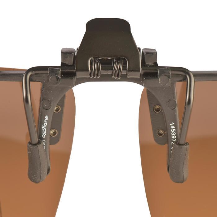 Aufstecksonnenbrille polarisierend Angeln Dusky Clip