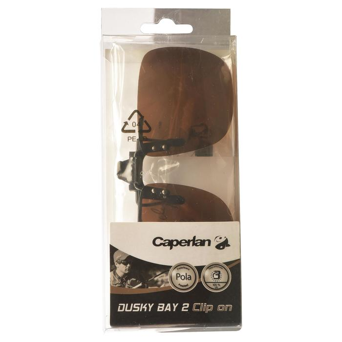 偏光釣魚太陽眼鏡夾片DUSKY