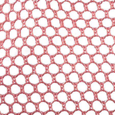 Fishing net pink discovering the world of water