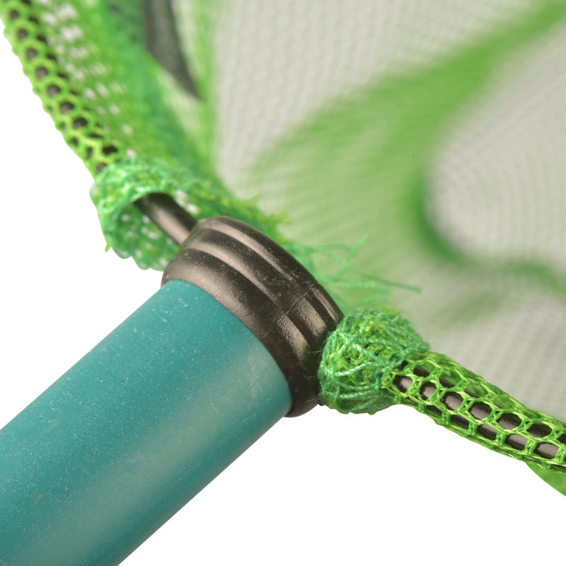Fishing net green discovering the world of water