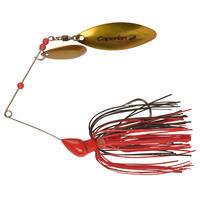 Buckhan 16gr Lure Fishing Spinnerbait Red/Black