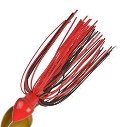 Spinnerbait kunstaashengelen Buckhan 16 g rood/zwart