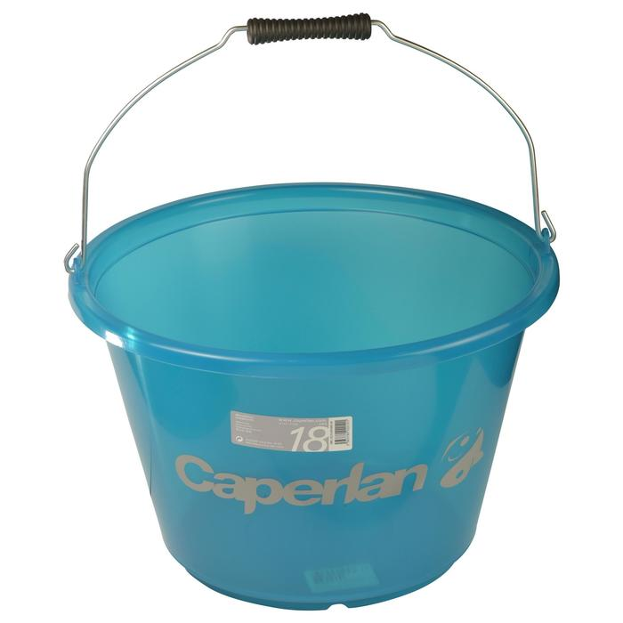 Futtereimer transparent Caperlan 18 l