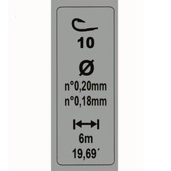 gemonteerde lijn 3 g H10 - 450167