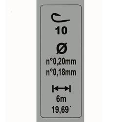 Gemonteerde lijn 3 g H10