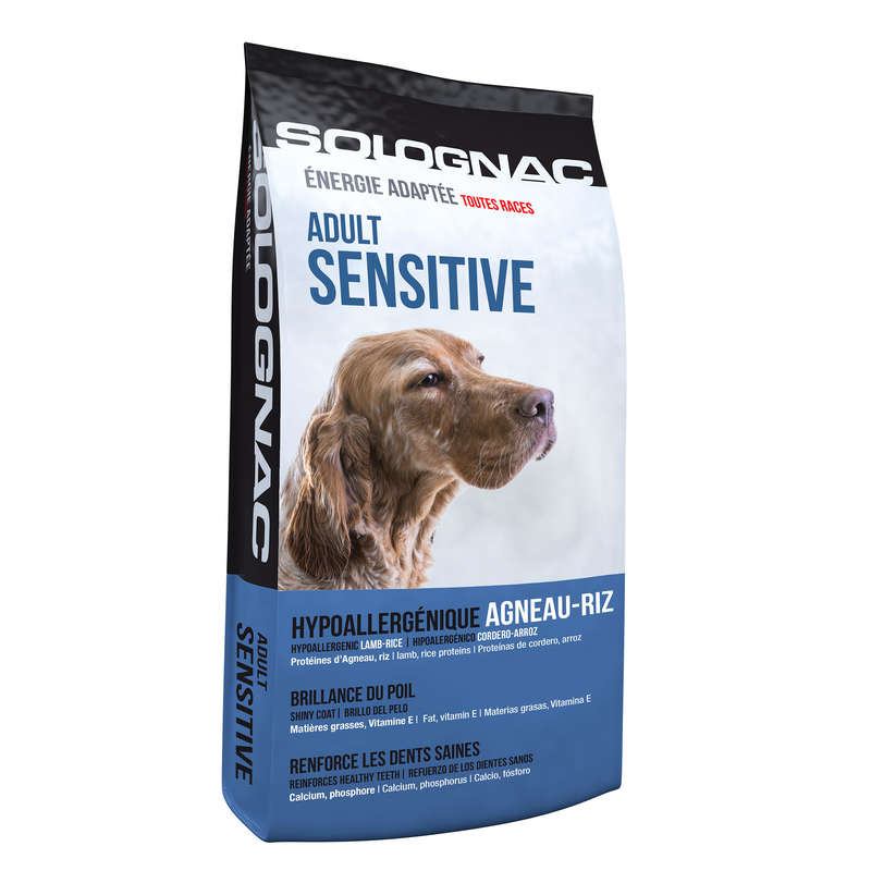 DOG NUTRITION Shooting and Hunting - ADULT DOG FOOD SENSITIVE SOLOGNAC - Working Dogs