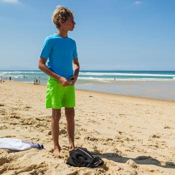 water tee shirt anti UV surf manches courtes enfant - 451646