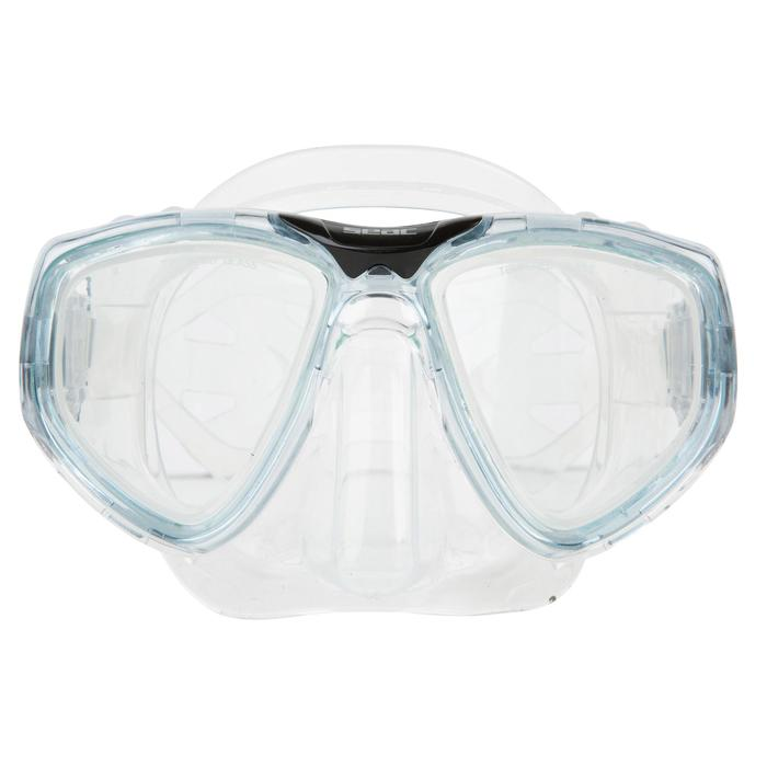 Masque de plongée One gris - 452017