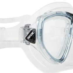 Duikmasker One grijs - 452020