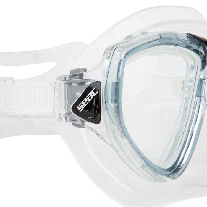 Masque de plongée One gris - 452020