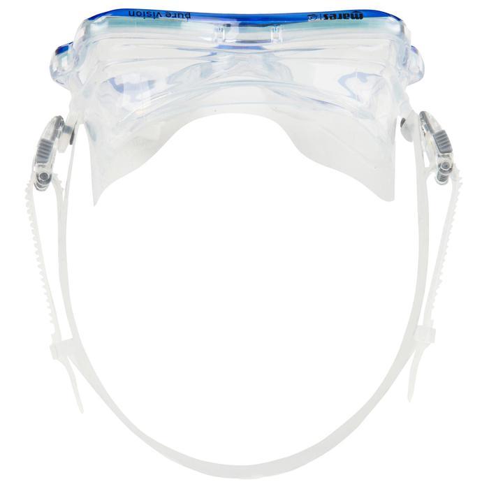 Masque de plongée sous-marine Pure Vision bleu - 452033