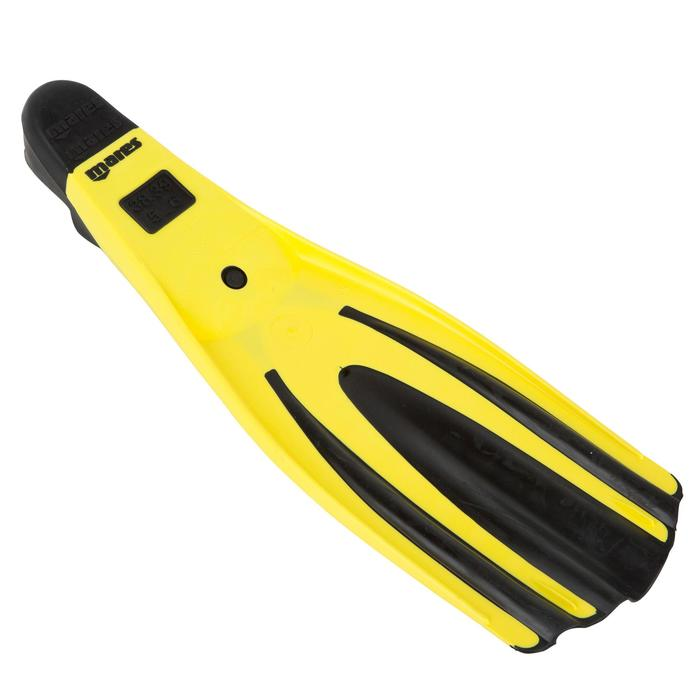 Aletas Buceo Avanti Snorkel Mares Superchannel Adulto Amarillas Negras