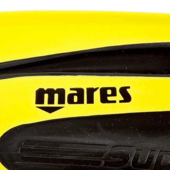 Palmes de plongée Avanti Superchannel jaunes et noires - 452039