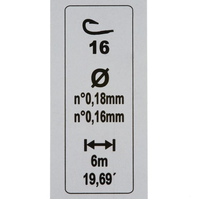 Gemonteerde lijn matchvissen RL MATCH H16 4+4 g