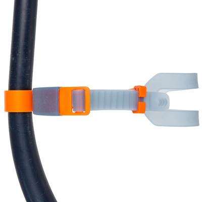 Центральна дихальна трубка Nabaiji для плавання - Темно-синя