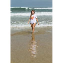 WATER TSHIRT UV Mujer Blanco Aloha