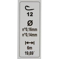 Gemonteerde lijn forel RL TOUCHYL COMP 2G H12 - 452178