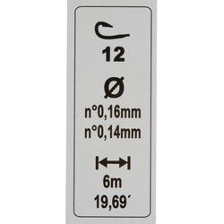 Gemonteerde lijn forel RL TOUCHYL COMP 2G H12
