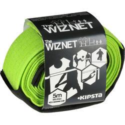 Beachvolleyballnetz The WizNet bis 5m grün