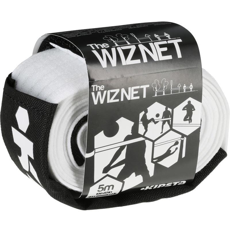 The Wiz Beach Volley Net - White