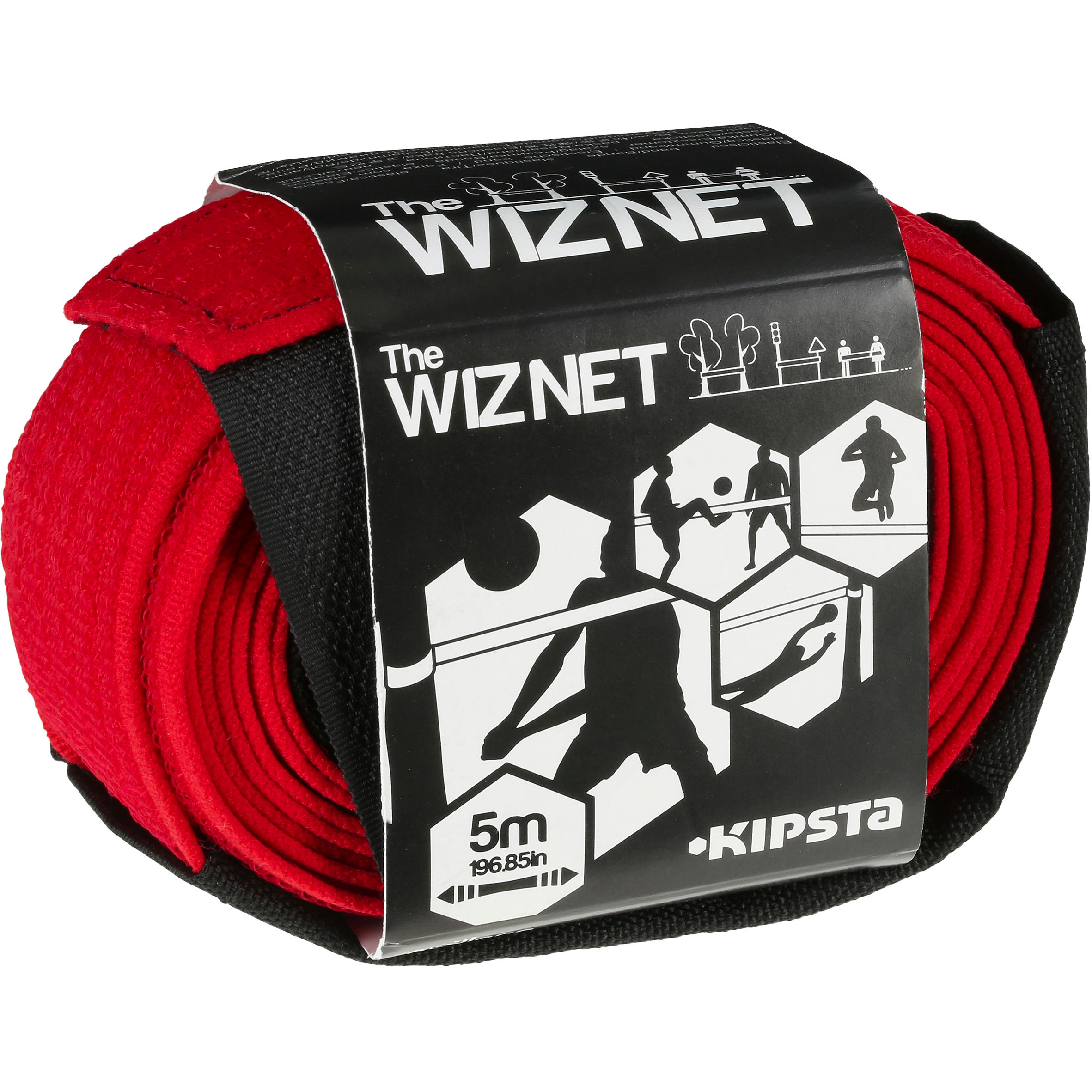 Red de voley playa The Wiz Net rojo