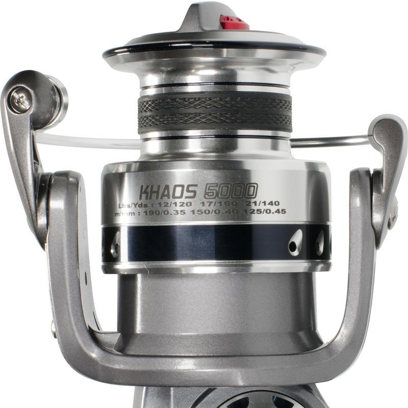 รอกสำหรับตกปลาทะเลน้ำหนักปานกลางรุ่น KHAOS 5000