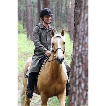 Impermeable equitación adulto SENTIER marrón