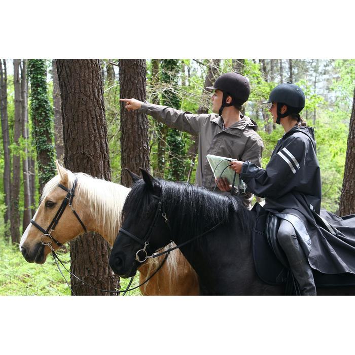 Imperméable équitation adulte SENTIER marron