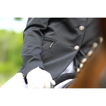 Veste de Concours équitation femme COMP500 noir - 452989