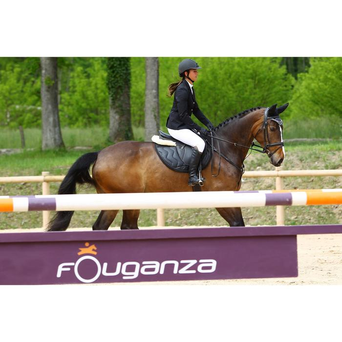 Veste de Concours équitation femme COMP500 noir - 452990