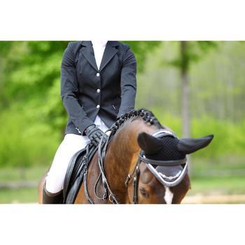 Veste de Concours équitation femme COMP500 noir - 452991