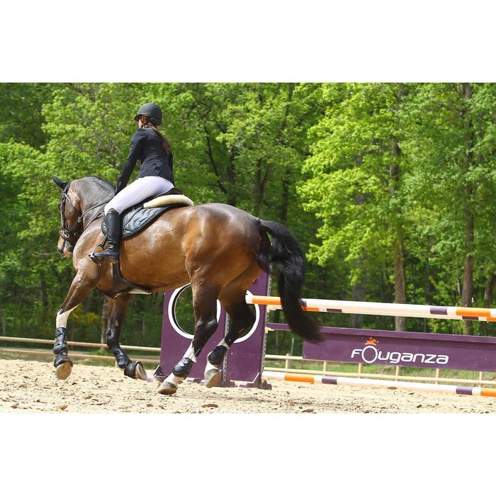 Veste de Concours équitation femme COMP500 noir - 452992
