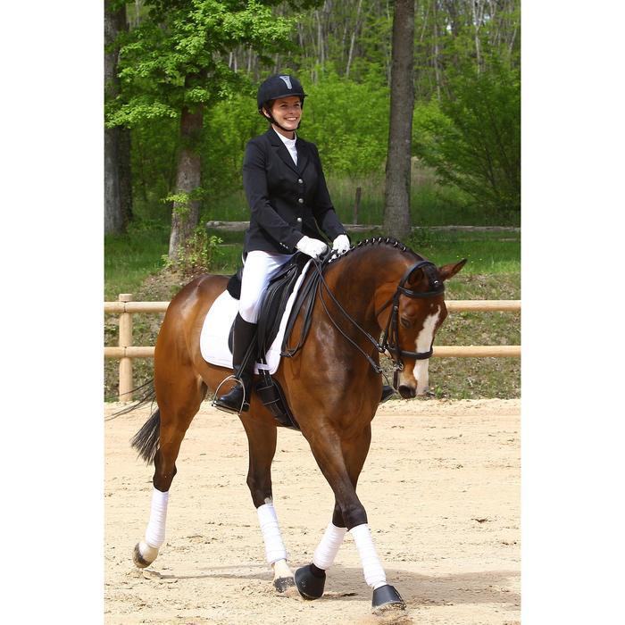 Veste de Concours équitation femme COMP500 noir - 452993