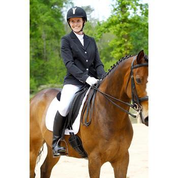 Veste de Concours équitation femme COMP500 noir - 452994