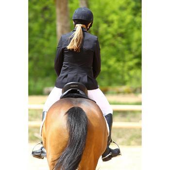 Veste de Concours équitation femme COMP500 noir - 452995