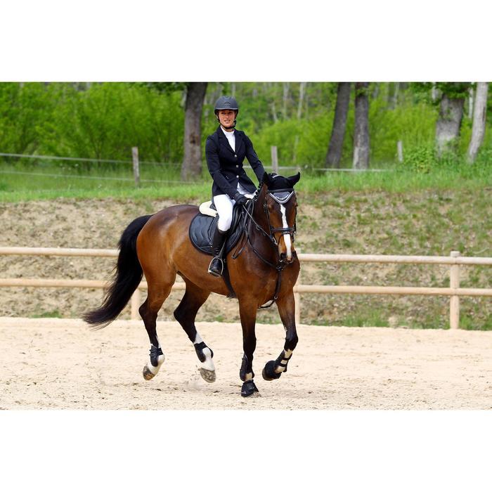 Veste de Concours équitation femme COMP500 noir - 452996