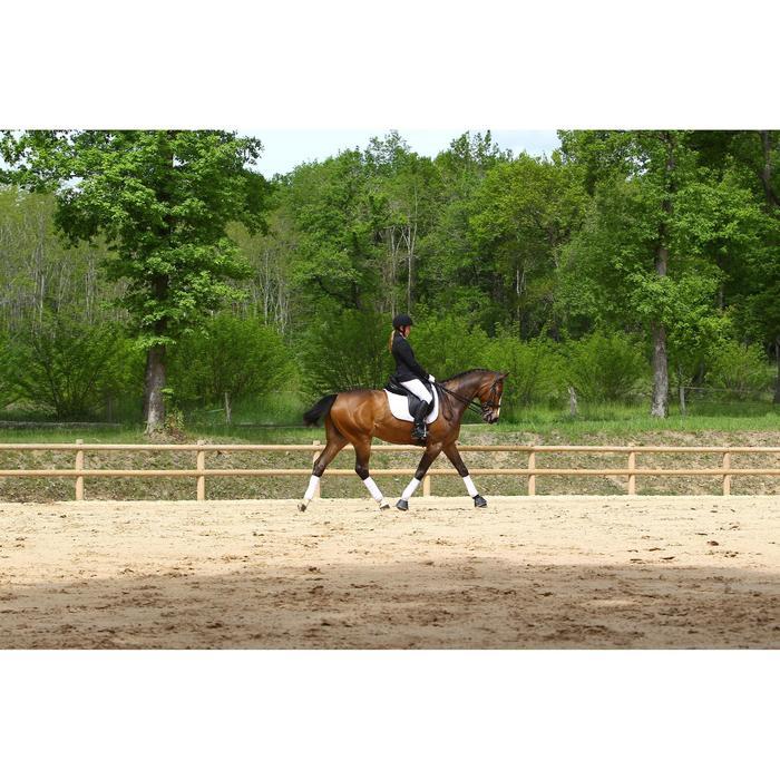 Veste de Concours équitation femme COMP500 noir - 452998