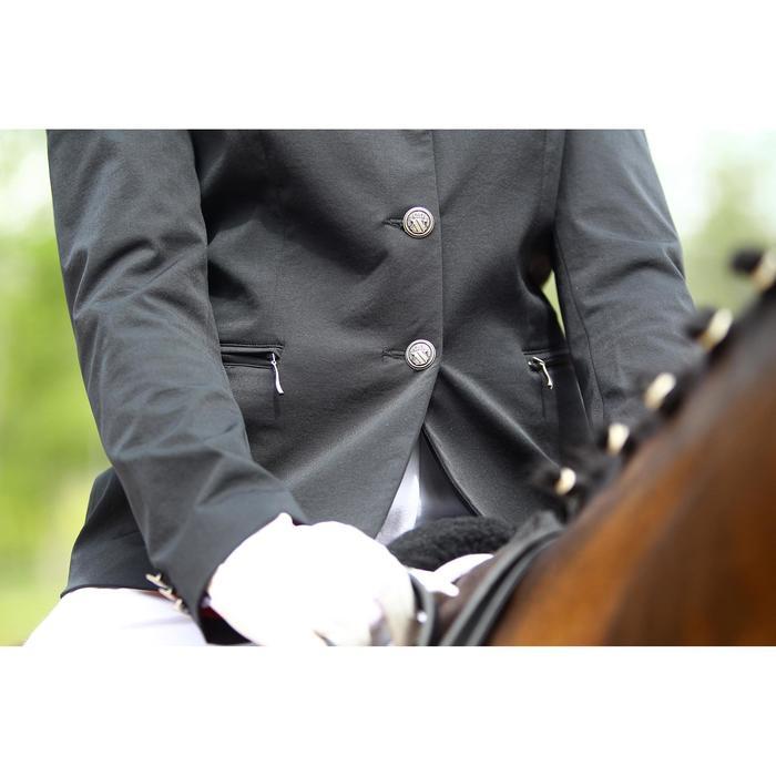 Veste de Concours équitation femme COMP500 noir - 452999