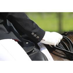 Wedstrijdjasje voor dames ruitersport Comp 500 zwart