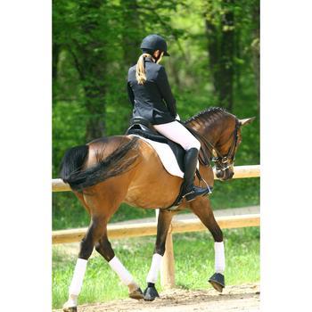 Veste de Concours équitation femme COMP500 noir - 453002