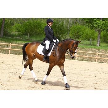 Veste de Concours équitation femme COMP500 noir - 453003