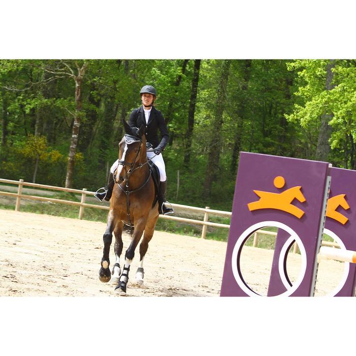 Veste de Concours équitation femme COMP500 noir - 453004