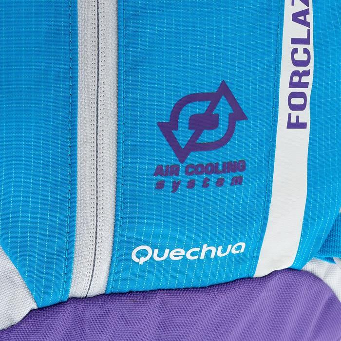 Rugzak F22 Air kinderen blauw/violet geventileerde rug voor een heerlijk comfort