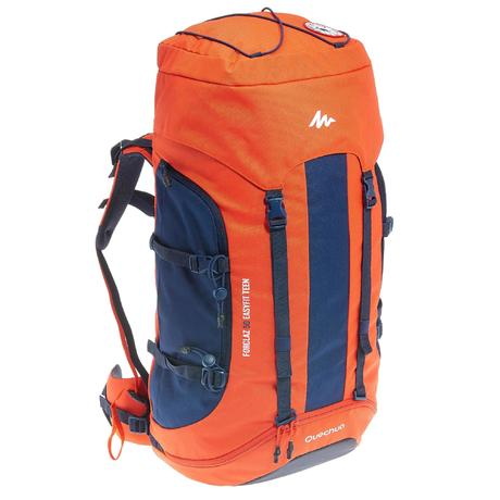 Sac à dos de randonnée enfant MH500 EASYFIT Rouge,   Quechua 635310684d9