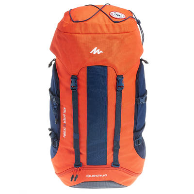 Children's walking Backpack MH500 EASY FIT - Red,