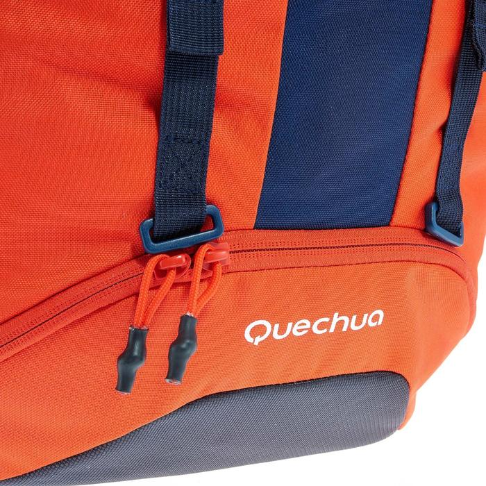 Mochila Montaña Senderismo Quechua50L MH500 Easyfit Niño Rojo