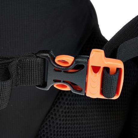 sac dos de randonn e rapide ou fast hiking helium 10l noir quechua. Black Bedroom Furniture Sets. Home Design Ideas