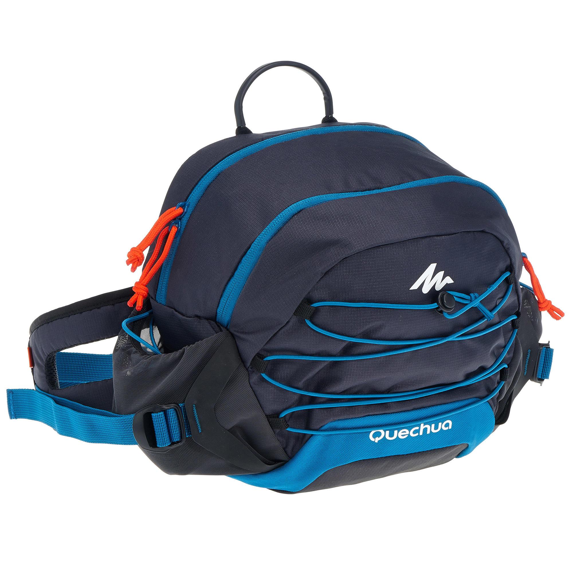 Bumbag Hiking Large Size 10 Litres Blue Quechua