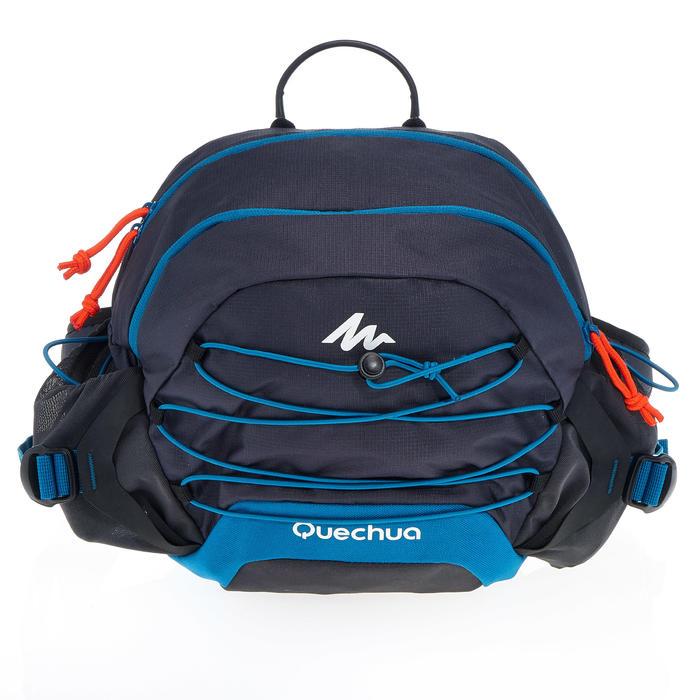 Riñonera Grande de Montaña y Trekking Viaje Quechua 10 Litros Azul